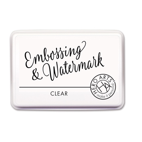 Hero Arts CLEAR EMBOSSING AND WATERMARK Ink Pad AF419 Preview Image