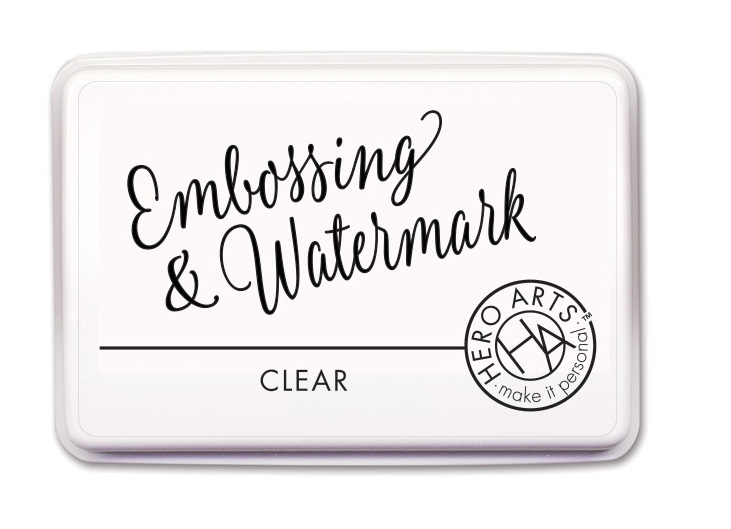 Hero Arts CLEAR EMBOSSING AND WATERMARK Ink Pad AF419 zoom image