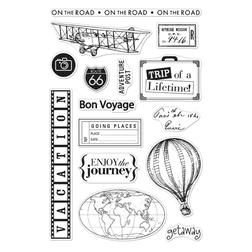 Hero Arts Clear Stamps FROM THE VAULT TRAVEL CM358 Preview Image