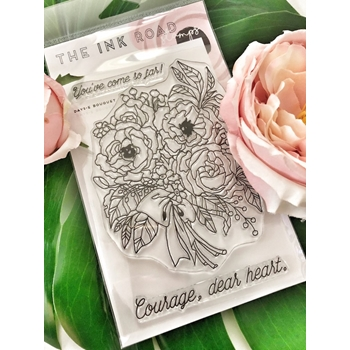 The Ink Road DAYS-E BOUQUET Clear Stamp Set inkr076