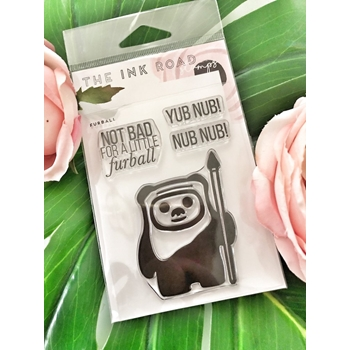 The Ink Road FURBALL Clear Stamp Set inkr069