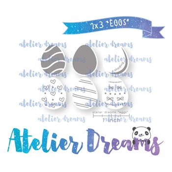 Atelier Dreams EGGS Clear Stamp Set adm055