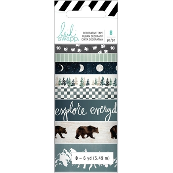 Heidi Swapp WOLF PACK Washi Tape 314698