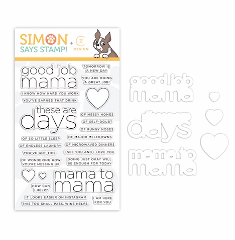 CZ Design Coordinating Set GOOD JOB MAMA set339gjm Preview Image