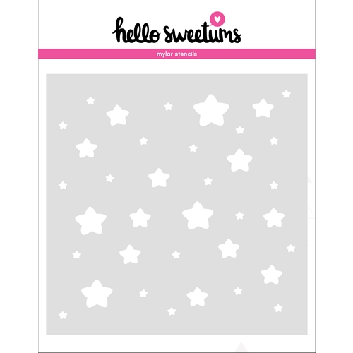 Hello Sweetums STARGAZER Stencil 336493 Preview Image