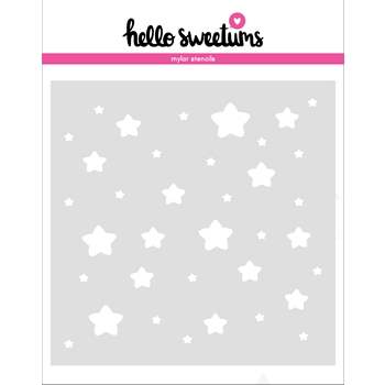 Hello Sweetums STARGAZER Stencil 336493