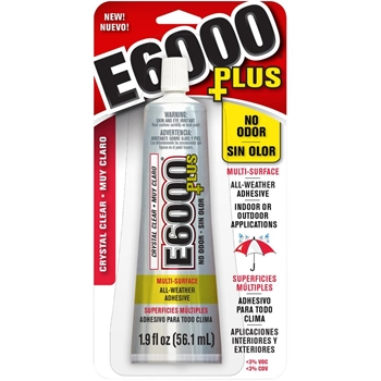 E6000 PLUS 1.9 ounce Multipurpose Adhesive 6824