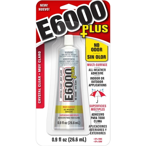 E6000 PLUS 0.9 ounce Multipurpose Adhesive 6817 Preview Image