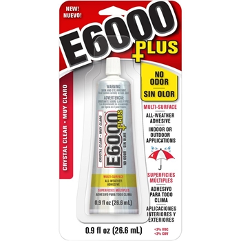 E6000 PLUS 0.9 ounce Multipurpose Adhesive 6817