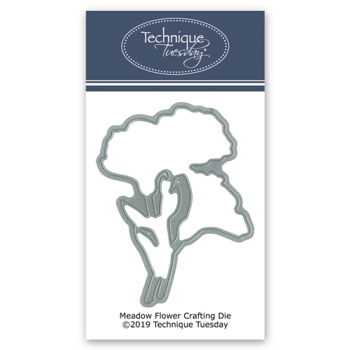 Technique Tuesday MEADOW FLOWERS DIY Steel Crafting Dies 2774 Preview Image