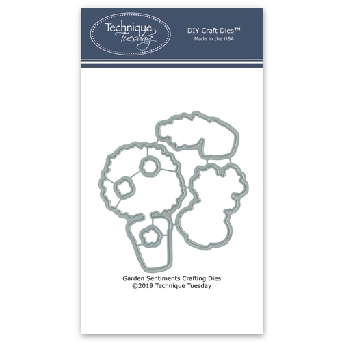 Technique Tuesday GARDEN SENTIMENTS DIY Steel Crafting Dies 2778 Preview Image