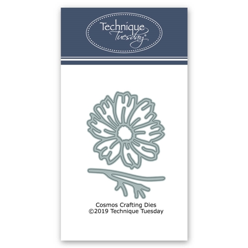 Technique Tuesday COSMOS FLOWER DIY Steel Crafting Dies 2772 Preview Image