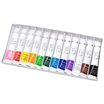American Crafts Paper Fashion SET 1 Gouache 12 Tube Paint Set 349303