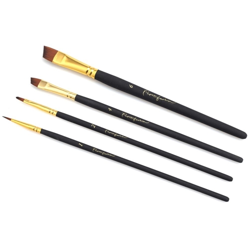 American Crafts Paper Fashion ASSORTED Paint Brush Set 2 349317 Preview Image