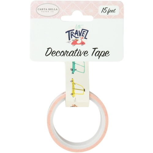 Carta Bella TRANSPORTATION Decorative Tape cblt100026 Preview Image