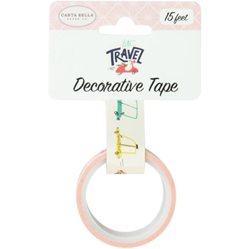 Carta Bella TRANSPORTATION Decorative Tape cblt100026