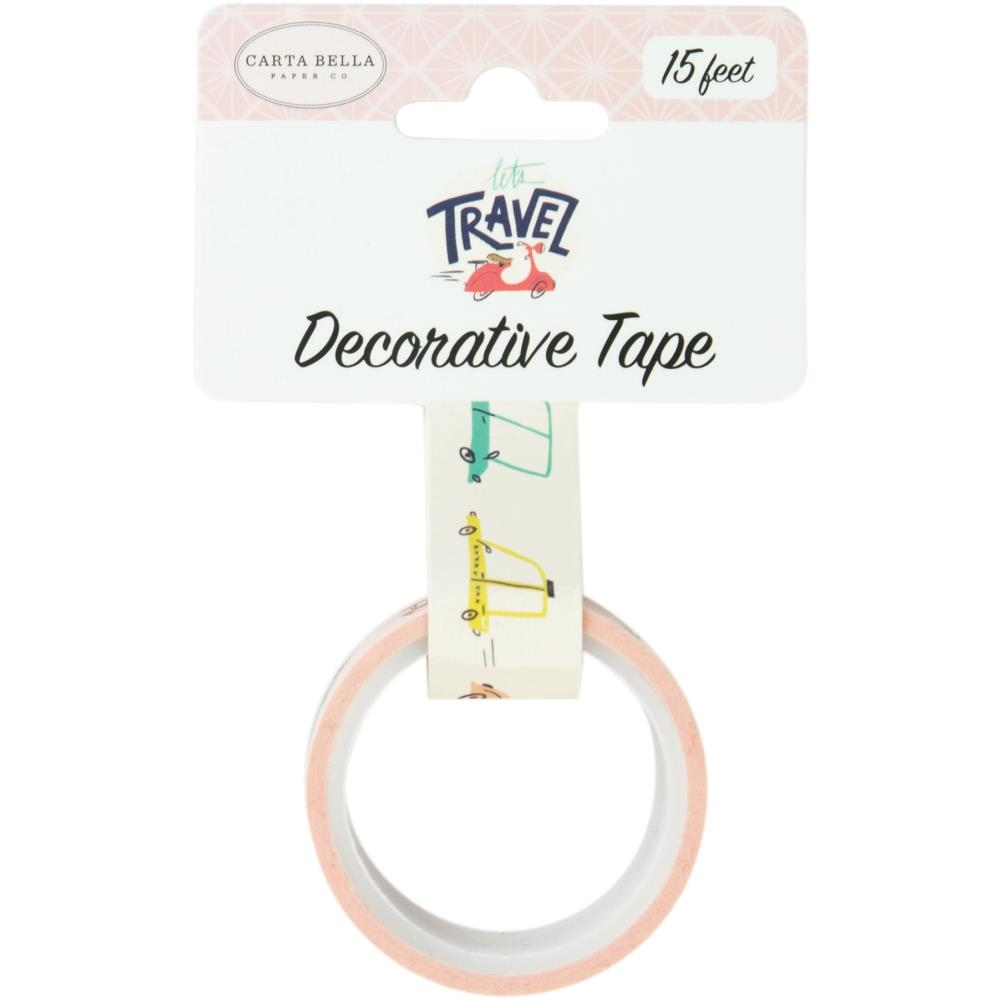 Carta Bella TRANSPORTATION Decorative Tape cblt100026 zoom image
