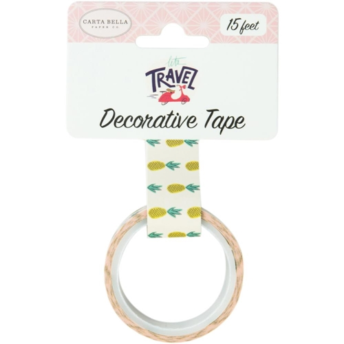 Carta Bella PINEAPPLES Decorative Tape cblt100027* Preview Image