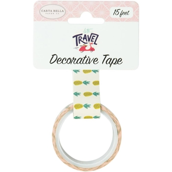Carta Bella PINEAPPLES Decorative Tape cblt100027