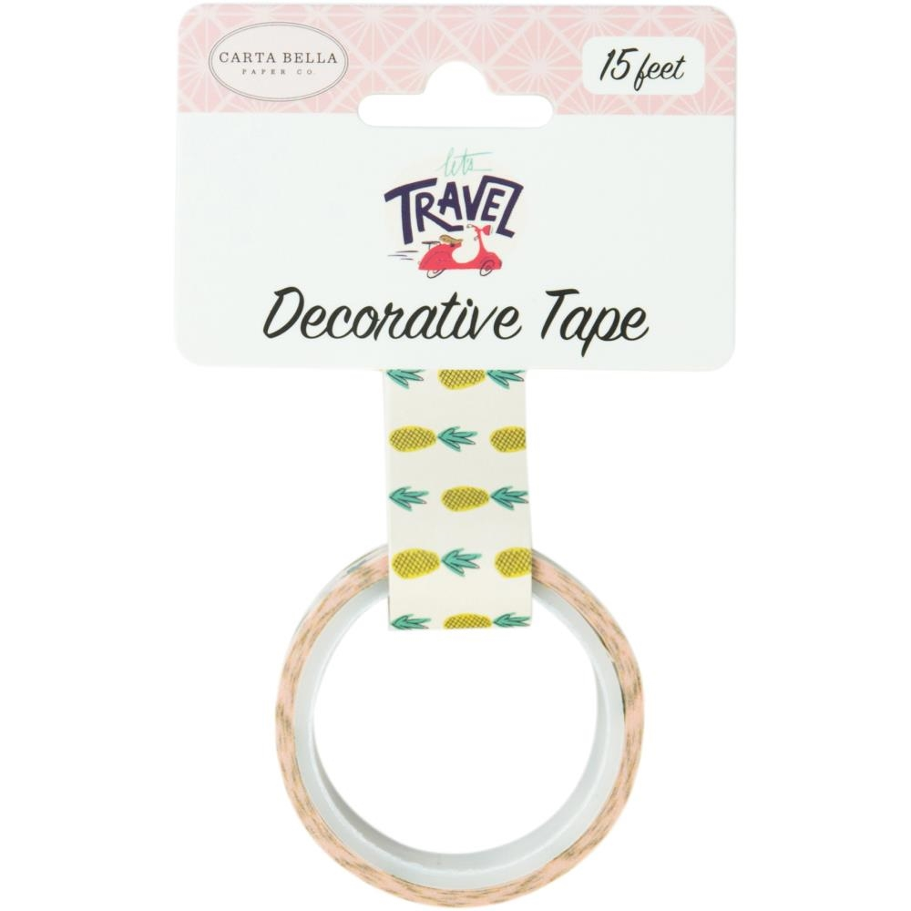 Carta Bella PINEAPPLES Decorative Tape cblt100027* zoom image
