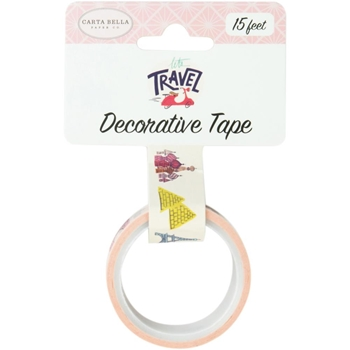 Carta Bella TRAVEL DESTINATIONS Decorative Tape cblt100029