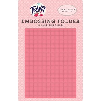 Carta Bella GRID Embossing Folder cblt100032