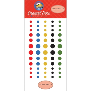 Carta Bella ALL ABOARD Enamel Dots cbaa101028