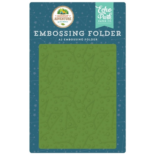 Echo Park CONSTELLATIONS Embossing Folder sa180031 Preview Image