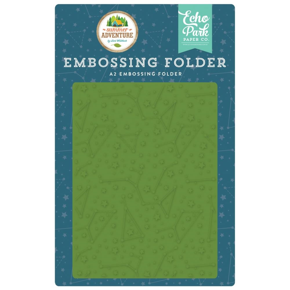 Echo Park CONSTELLATIONS Embossing Folder sa180031 zoom image
