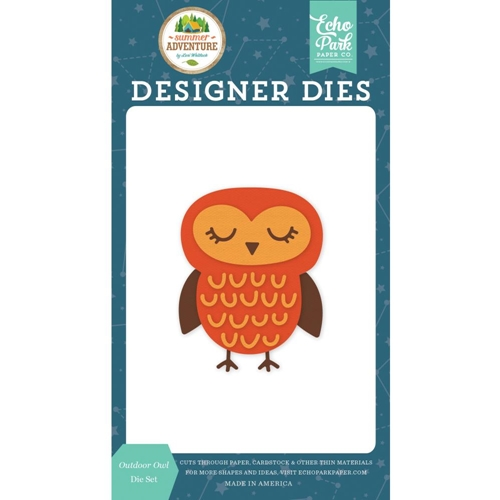 Echo Park OUTDOOR OWL Die Set sa180040* Preview Image