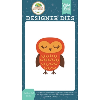 Echo Park OUTDOOR OWL Die Set sa180040
