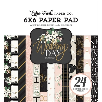 Echo Park WEDDING DAY 6 x 6 Paper Pad wd181023
