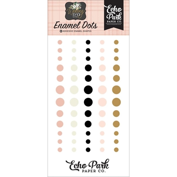 Echo Park WEDDING DAY Enamel Dots wd181028