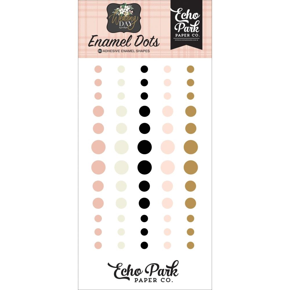 Echo Park WEDDING DAY Enamel Dots wd181028 zoom image