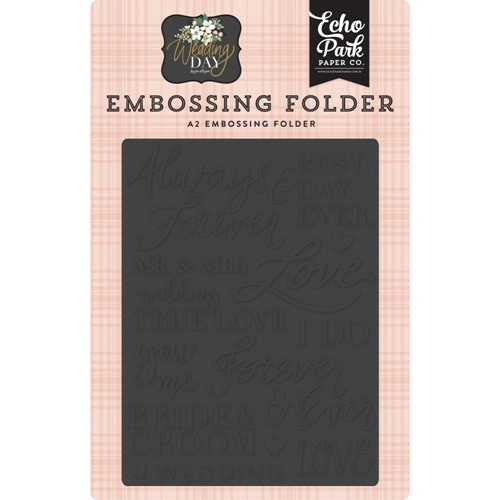 Echo Park ALWAYS AND FOREVER Embossing Folder wd181031 Preview Image