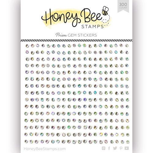 Honey Bee CRYSTAL PRISM Gem Stickers hbgs-002 Preview Image