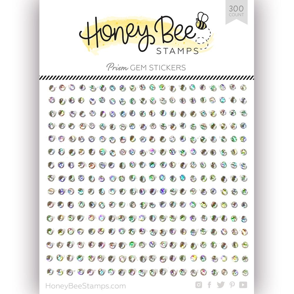 Honey Bee CRYSTAL PRISM Gem Stickers hbgs-002 zoom image