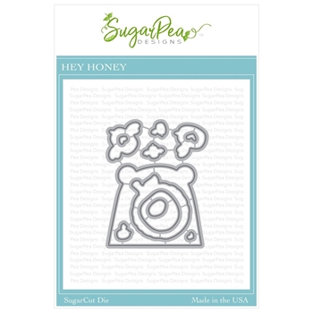 SugarPea Designs HEY HONEY SugarCuts Dies spd-00338