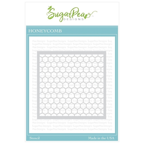 SugarPea Designs HONEYCOMB Stencil spd-00341 Preview Image
