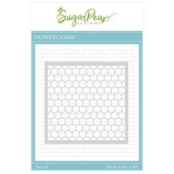 SugarPea Designs HONEYCOMB Stencil spd-00341