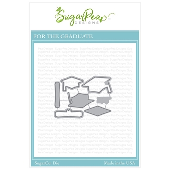SugarPea Designs FOR THE GRADUATE SugarCuts Dies spd-00350
