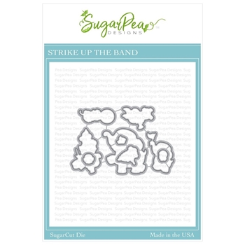 SugarPea Designs STRIKE UP THE BAND SugarCuts Dies spd-00343