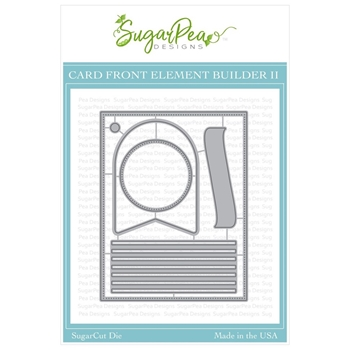 SugarPea Designs CARD FRONT ELEMENT BUILDER II SugarCuts Dies spd-00344