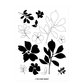 The Stamp Market BOTANICALS Clear Stamp Set tsm011