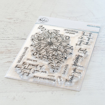 Pinkfresh Studio JUST A LITTLE LOVELY Clear Stamp Set pfcs1419