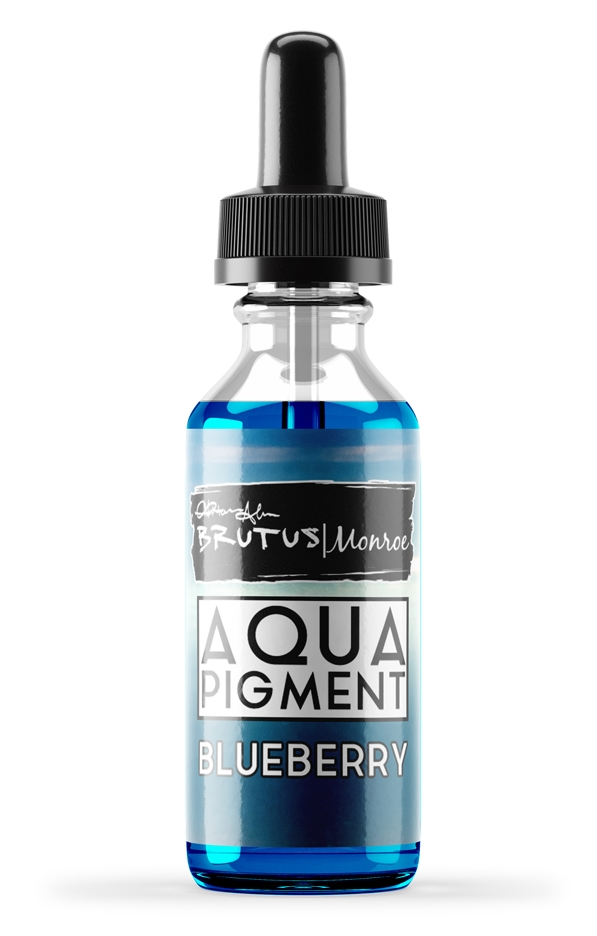Brutus Monroe BLUEBERRY Metallic Aqua Pigments bru3693 zoom image