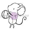 Purple Onion Designs DUSTY Cling Stamp pod1039