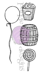 Purple Onion Designs FAIR ACCESSORIES Cling Stamp pod1044