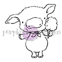 Purple Onion Designs PINKY Cling Stamp pod1040