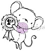 Purple Onion Designs DOLLY Cling Stamp pod1034